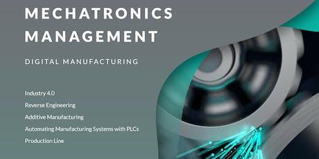 International Summer Academy 2019 - Mechatronics and Management - Digital manufacturing tickets