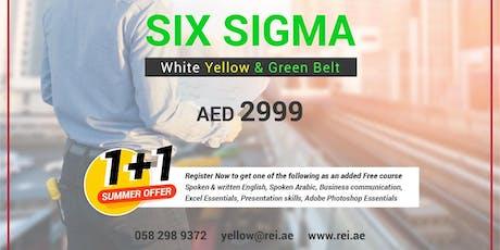 Next batch alert! Lean Six Sigma Green Belt tickets