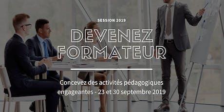Concevez des activités pédagogiques engageantes- 23 et 30 septembre 2019 billets
