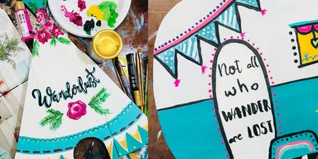 Art-Made-Easy Paint Workshop Happy Camper tickets