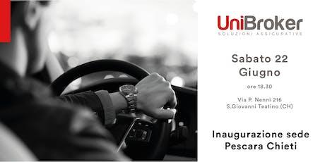 UniBroker - Inaugurazione sede Pescara Chieti biglietti