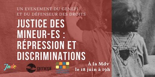Exposition interactive:Justice des mineur-es  répression et discriminations