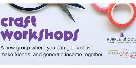 Purple Shoots: Craft Workshop tickets
