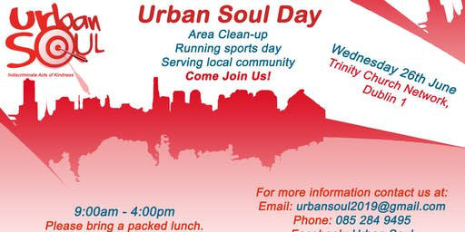 Urban Soul June 26th 2019