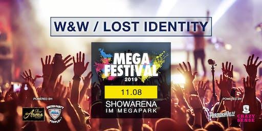 MEGAFESTIVAL - W&W / LOST IDENTITY