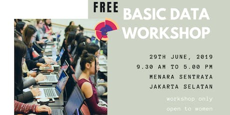 SheLovesData Jakarta: Free Introduction to Data Analytics Workshop for Women tickets
