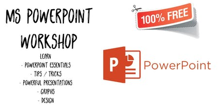 Manfred Kwapong - Microsoft PowerPoint Workshop - Essentials Free (September 2019) tickets