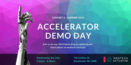MedTech Actuator 2019 Demo Day tickets