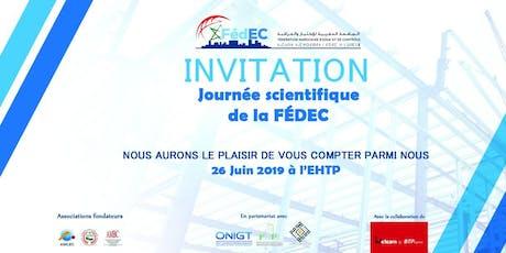 Journée Scientifique de la FédEC billets