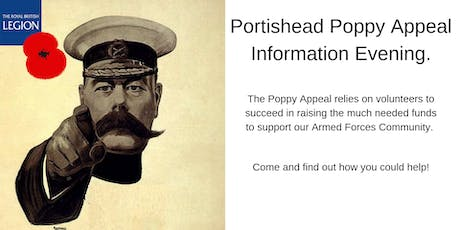 Portishead Poppy Appeal Information Evening tickets