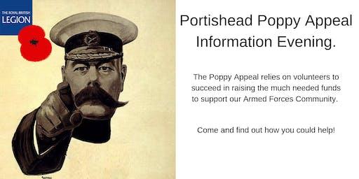 Portishead Poppy Appeal Information Evening