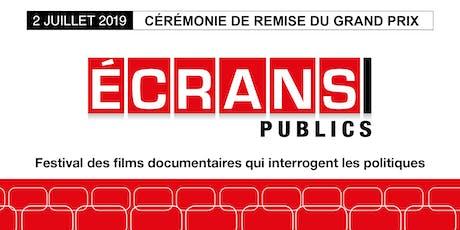 Ecrans publics 2019 billets