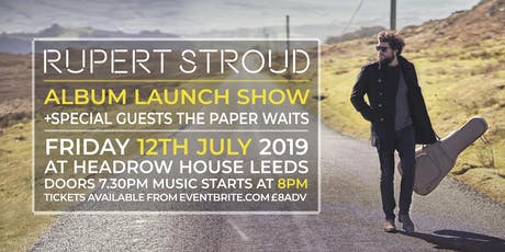 Rupert Stroud Album Launch Show tickets