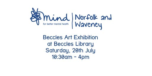 Norfolk and Waveney Mind Mental Health Awareness Art Exhibition