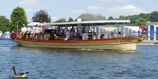 Henley Royal Regatta Public Steamboat Trips