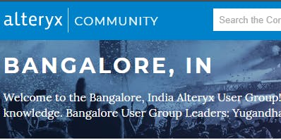 Bangalore Alteryx User Group Q2 Meet