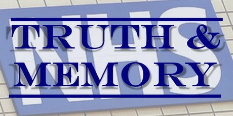 Truth & Memory - The Fight to Safeguard the Future of our NHS tickets