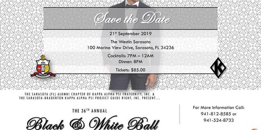 Kappa Alpha Psi Fraternity Black & White Gala Ball