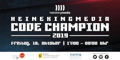 Hackathon heinekingmedia Code Champion 2019 in H