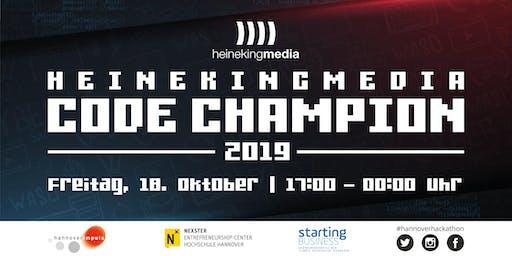 "Hackathon ""heinekingmedia Code Champion 2019"" in Hannover"