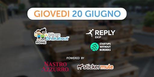 #27 Silicon Drinkabout Rome - 20 Giugno - HOPE