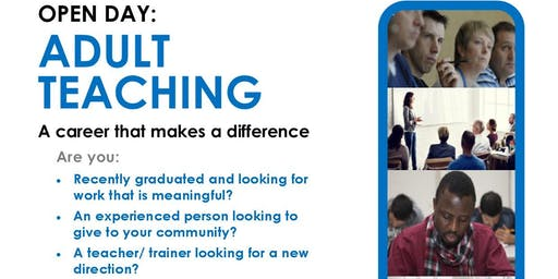 OPEN DAY: ADULT TEACHING