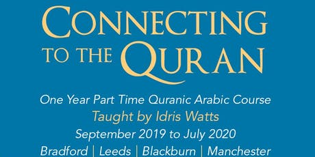 Connecting to the Quran Open Day Bradford tickets