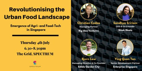 Revolutionising The Urban Food Landscape tickets