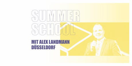 SUMMER SCHOOL DÜSSELDORF 2019 Tickets