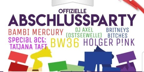 Offizielle Aftershowparty des CSD Rostock 2019 Tickets