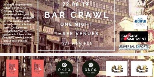 SAI YING PUN BAR CRAWL