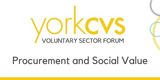 Strategic Forum - Procurement and Social Value