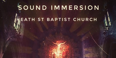 'Sound Sanctuary' Sound Immersion tickets
