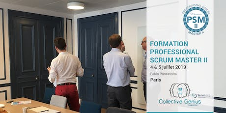 Formation Professional Scrum Master II - Scrum.org billets