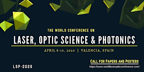 The World Conference On Laser, Optic Science & Photonics (LSP  2020) tickets