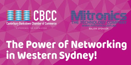 The POWER of Networking in Western Sydney tickets