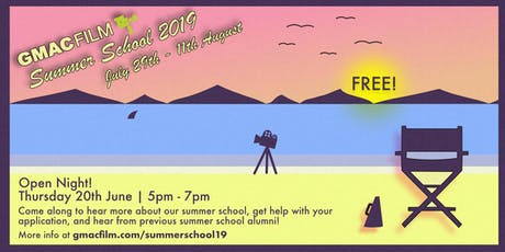 GMAC Film Summer School Open Night  tickets