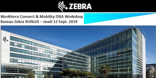Zebra – Workforce Connect & Mobility DNA  Workshop