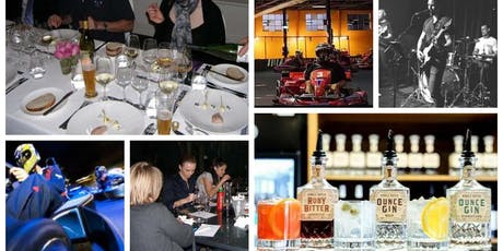 Driving and Drinking ? Go Karts, Wine, Dine and a Live Band tickets