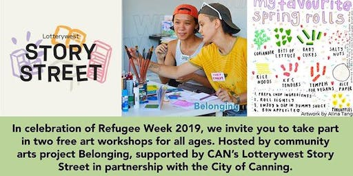 Concertina Book Making | Refugee Week 2019