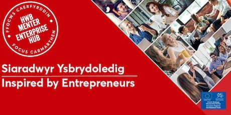 Siaradwyr Ysbrydoledig | Inspired by Entrepreneurs tickets