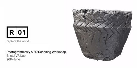 Bristol VR Lab - Reality01 3D Scanning & Photogrammetry Workshop tickets
