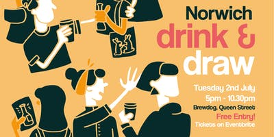 Norwich Meet Up: Drink and Draw @ Brewdog