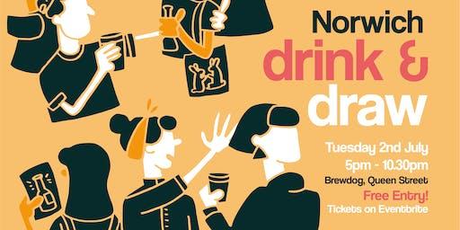 Norwich Meet Up: Drink and Draw @ Brewdog