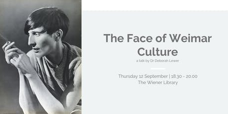 Talk: The Face of Weimar Culture tickets