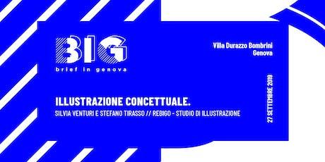 BIG WORKSHOP // Illustrazione Concettuale biglietti