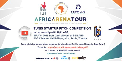 Tunis Startup Pitch Event - AfricArena Tour 2019