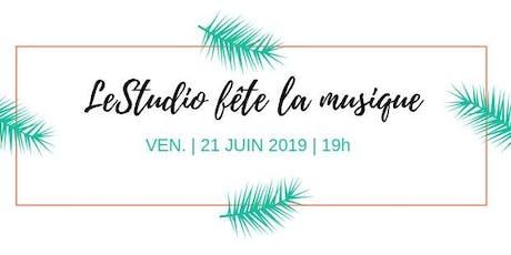LeStudio fête la musique: scène ouverte billets