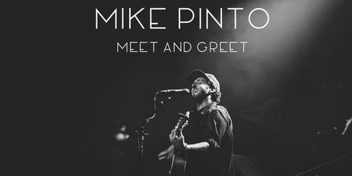 Mike Pinto in Wilmington, NC - Acoustic Meet and Greet - Summer Tour