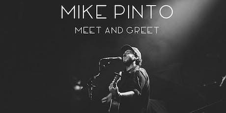 Mike Pinto in Asbury Park, NJ - Acoustic Meet and Greet - Summer Tour tickets